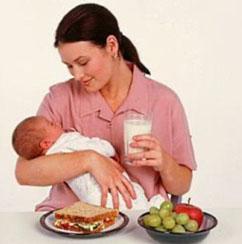 запоры у кормящей мамы